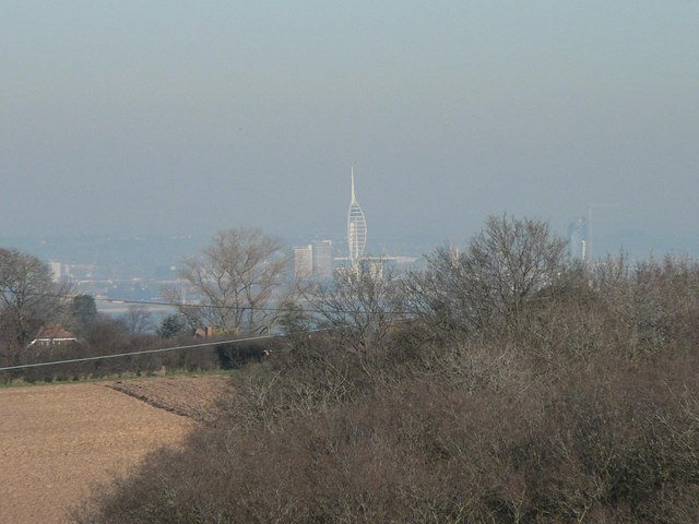 Portsmouth: Spinnaker Tower from Havenstreet