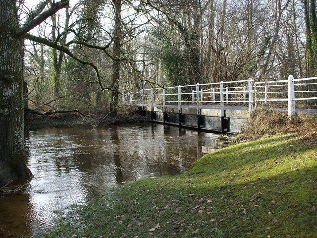 River Lymington at Mill Lane