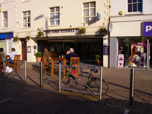 Andover - The John Russell Fox, Public House
