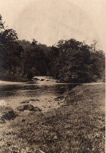 Near Posforth Bridge, Bolton Abbey taken 1923
