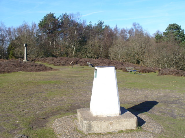 Gibbet Hill Trig Point