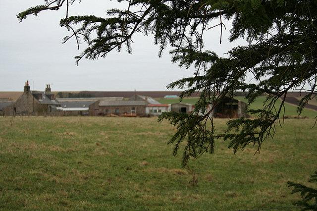 Lower Auchnamoon Farm
