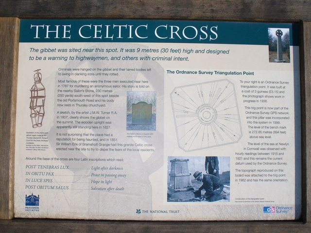 The Celtic Cross, Gibbet Hill, Hindhead