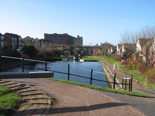 Flight of Locks, Leeds-Liverpool Canal