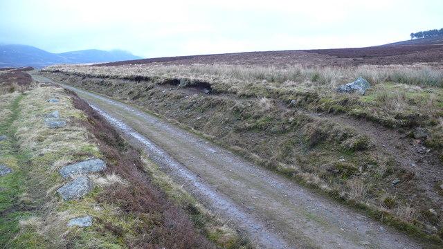 Track to Loch Farleyer