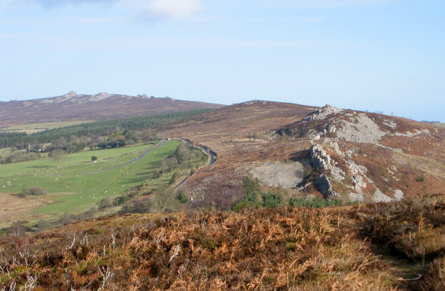 Stiperstones from Black Rhadley hill