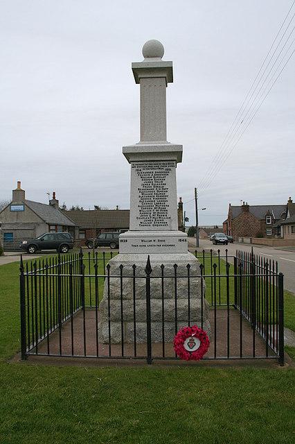 War memorial at New Byth