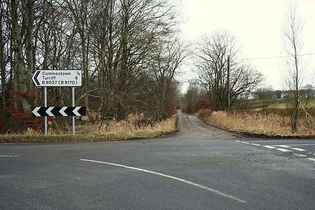 Lane ahead for Home Farm of Auchry