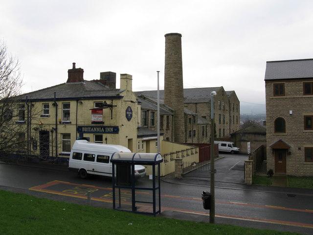 The 'Britannia', Padiham, Lancashire
