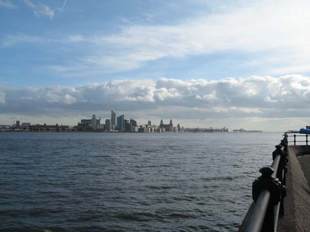 Across the Mersey to Liverpool from Egremont