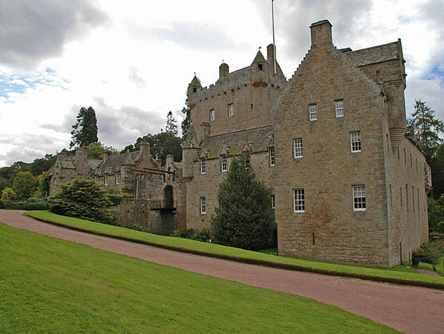 Cawdor Castle from the north east