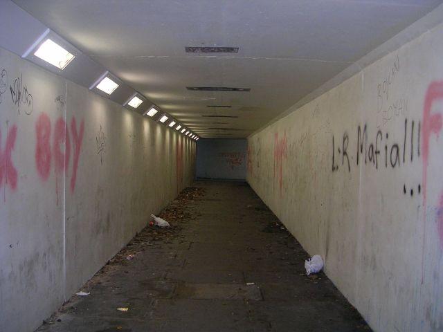 Subway under Bradford Road