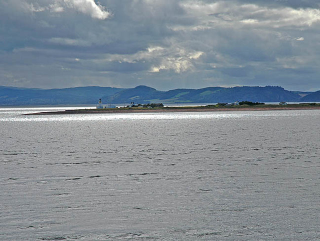 Chanonry Point from Fort George