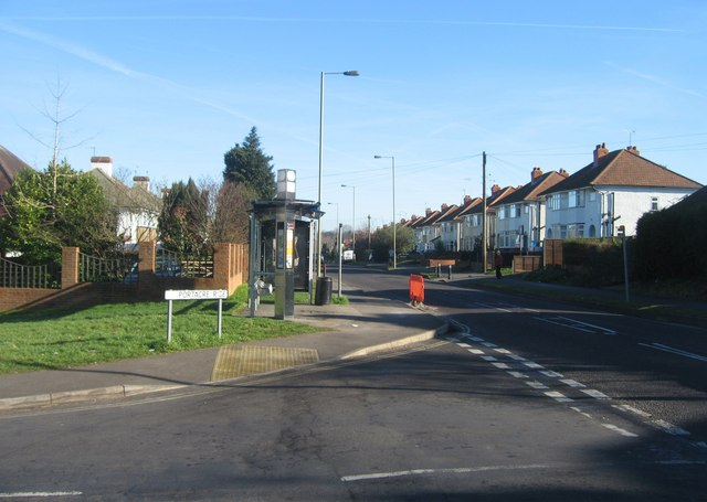 Looking up the Winchester Road towards the town centre