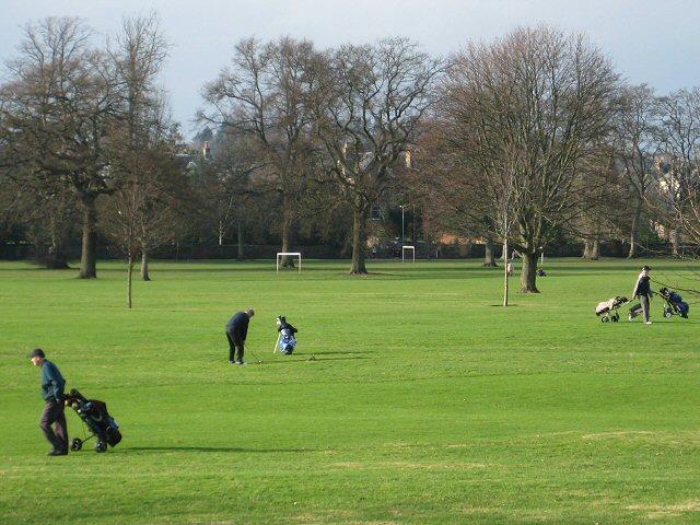 North Inch golfers