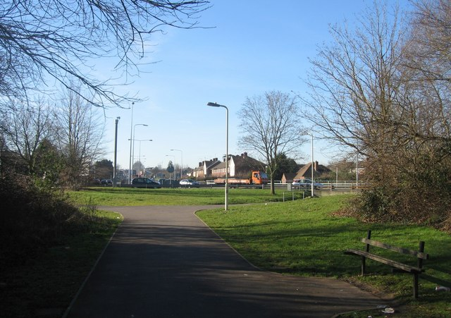 Winchester Road roundabout - SW view