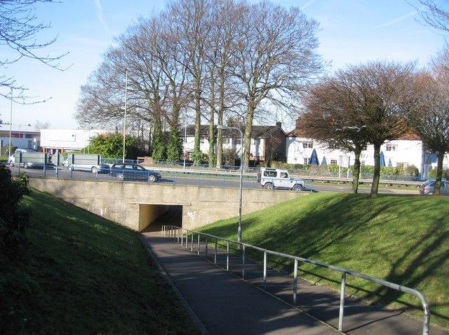 Footpath ramp 2