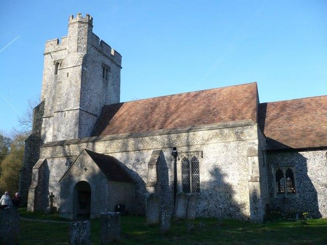St. Cosmas & St. Damian Church, Challock