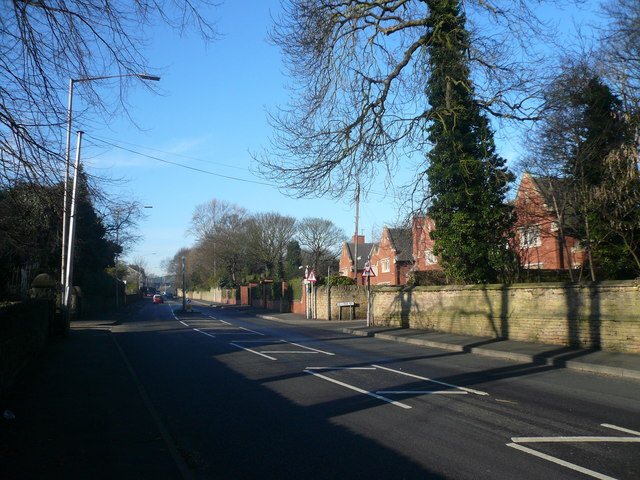 Mansfield Woodhouse - Priory Road View