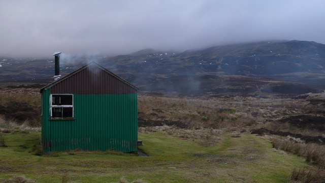 Grouse shooters hut
