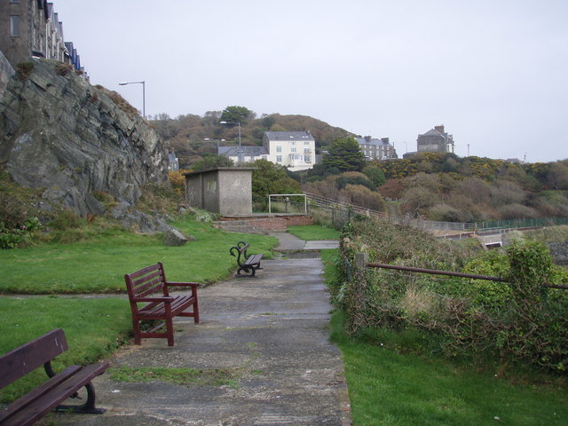 The park over the railway tunnel