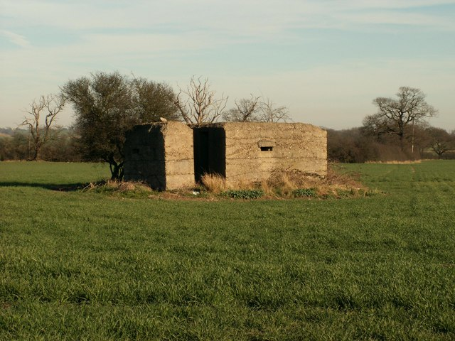 A pill box that sits along the old A.130 at Rettendon