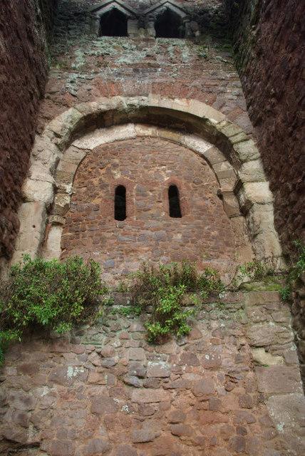 Rougemont Castle Gatehouse