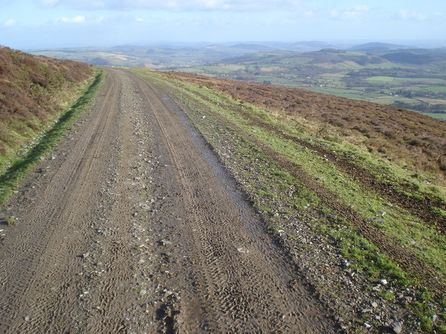 Track on Bache Hill