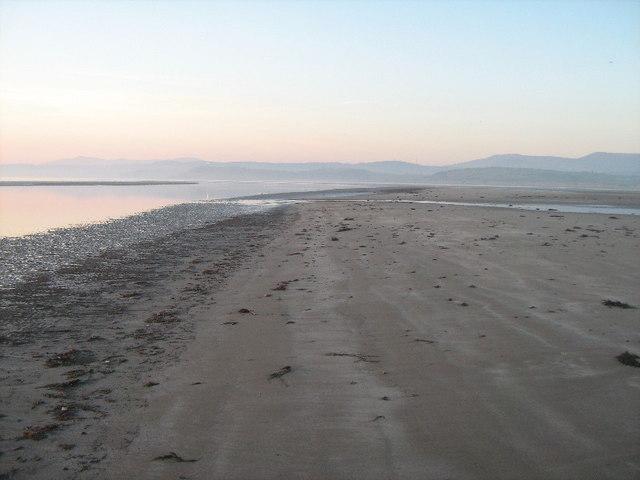 Sandbanks off Black Rock Sands