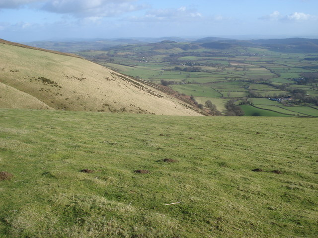 South side of Bache Hill
