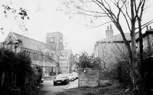 St John's Church and Deans Villas, Mattock Lane, Ealing