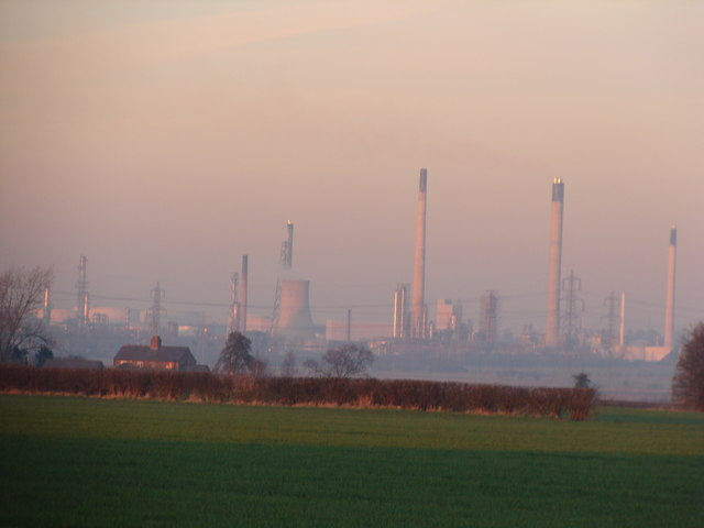 Stanlow from a distance