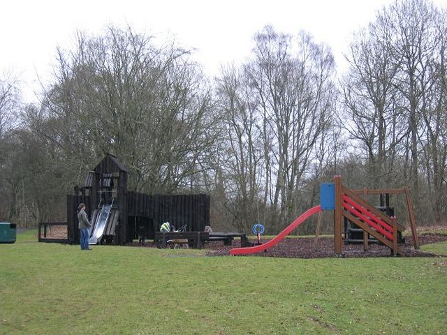 Play park in the Den o' Alyth