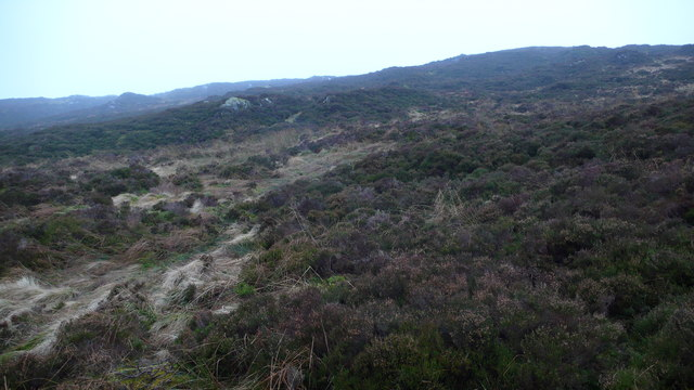 Rough hillside