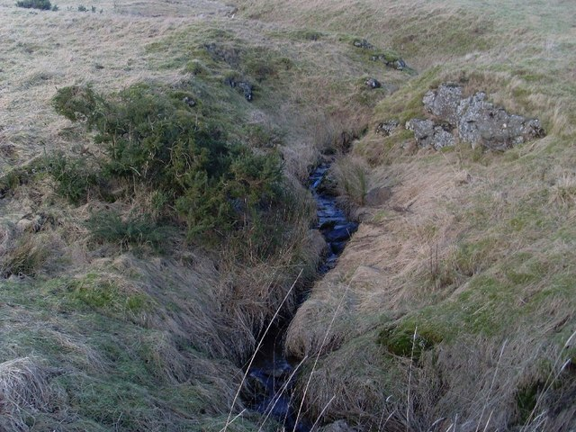 Small tributary to Loch Humphrey Burn