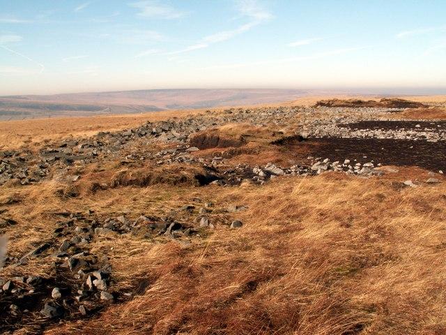 Rocks on Horseley Head Moss