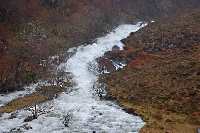 River Shiel in spate
