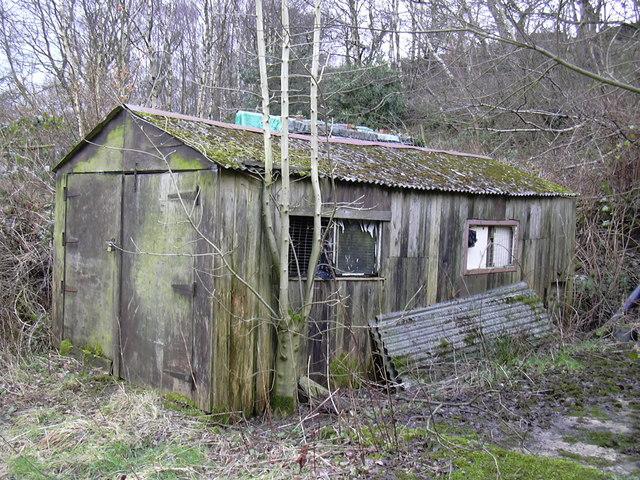 Abandoned Garage Lee Mill