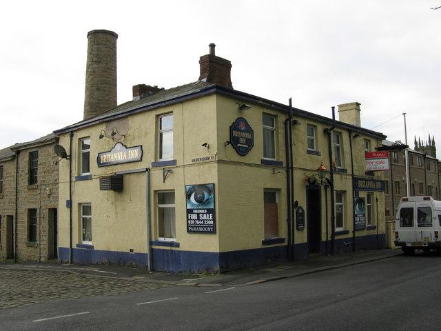The 'Britannia', Guy Street, Padiham, Lancashire