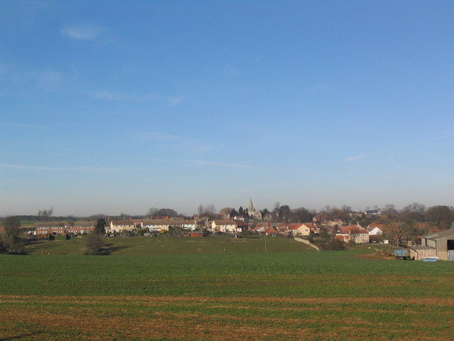 Skillington from the south-east