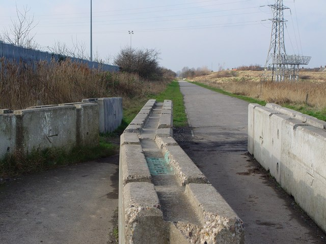 The Cycle Track into Hull