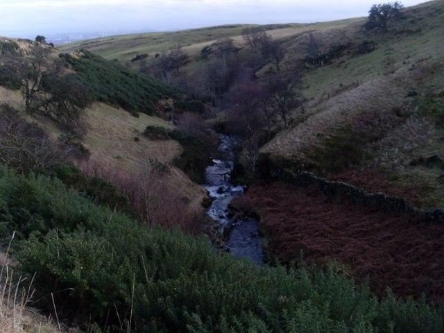 Loch Humphrey Burn and valley