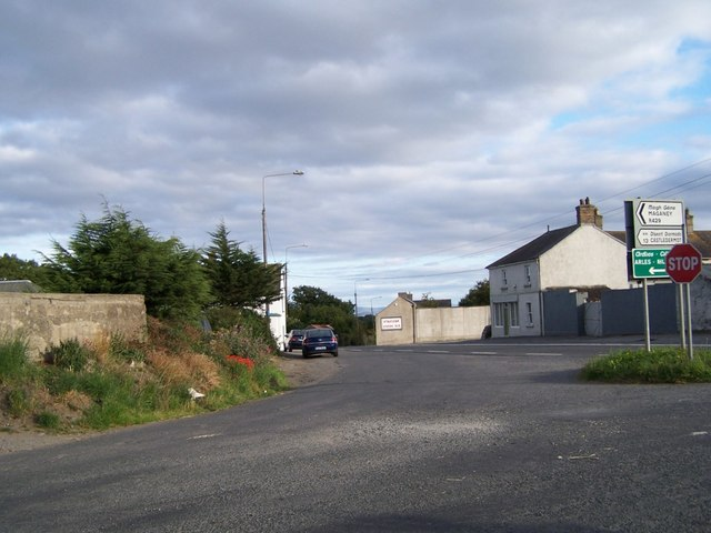 Entering Ballickmoyler from Maganey