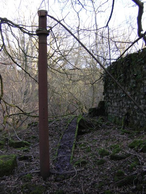 Catshaw Cotton Mill , Ruin