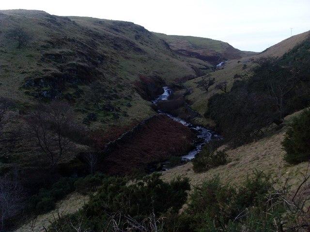 Meander on Loch Humphrey Burn