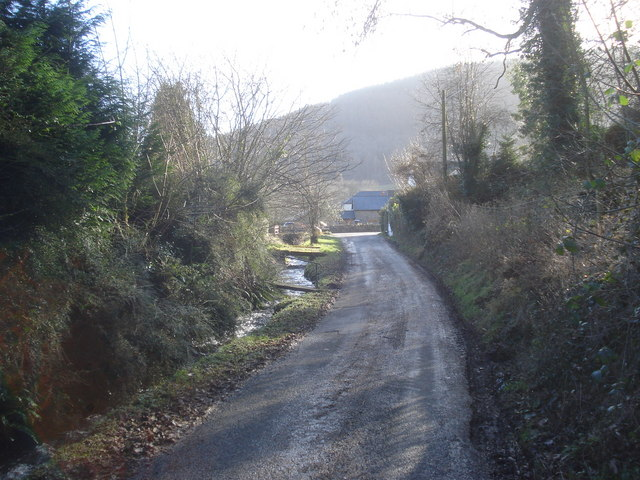 The Mutton Dingle lane