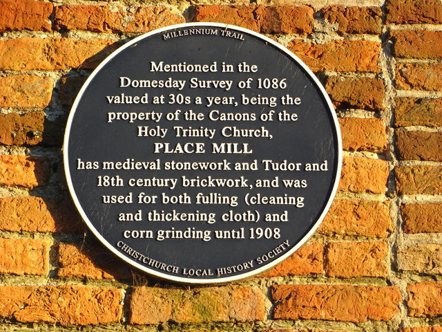 Place Mill Christchurch