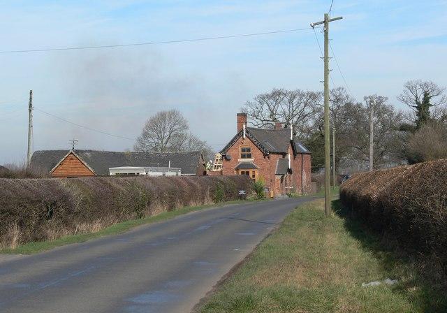 Atherstone Road near Ratcliffe Culey