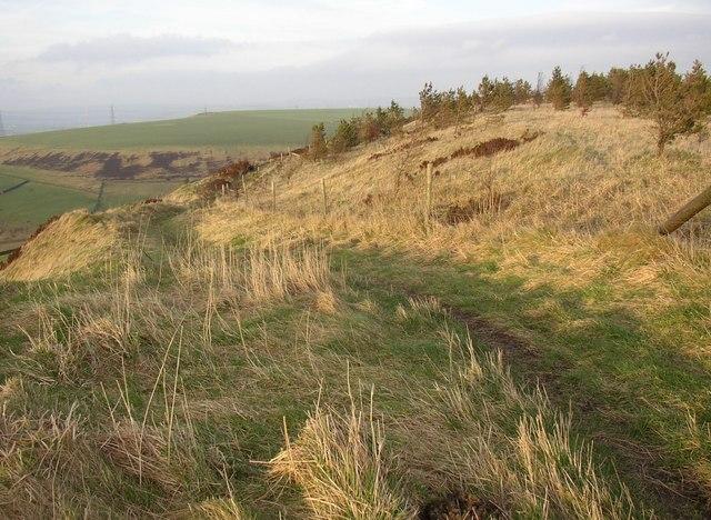 Path along the edge, Rishworth