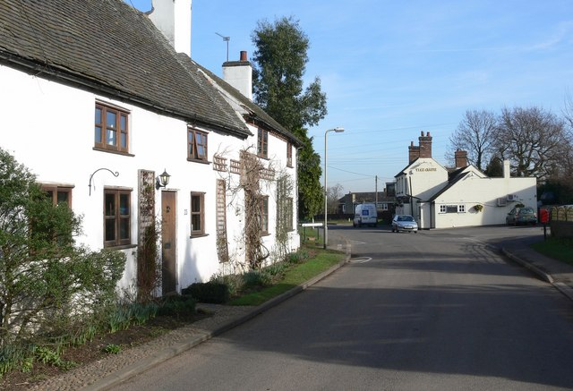 Main Road in Ratcliffe Culey